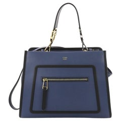 Fendi Runaway Handbag Leather Small