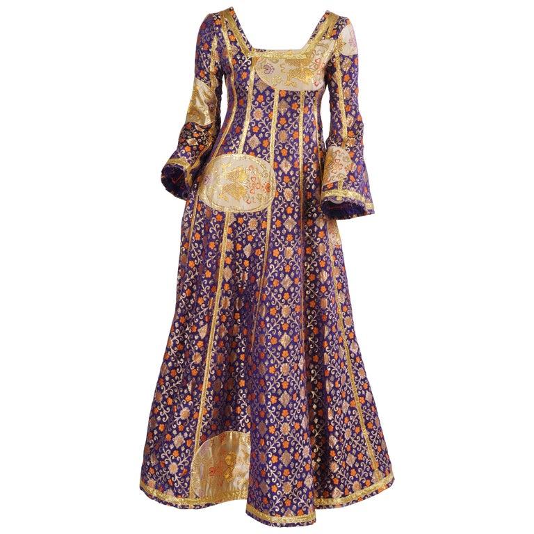 Giorgio di Sant Angelo Patchwork Klimt Dress 1969