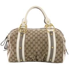 Gucci Interlocking Boston Bag GG Canvas Medium