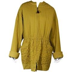 Mustard Yellow Vintage Gianni Versace Jacket