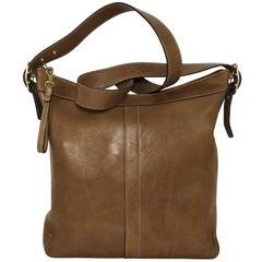 Coach Vintage Large Slim Legacy Crossbody Shoulder Handbag in Brown