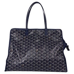 Blue Goyard Sac Hardy Pet Carrier PM Bag