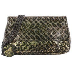 eab5beda150a3 Bottega Veneta Expandable Chain Crossbody Bag Intrecciomirage Leather Small