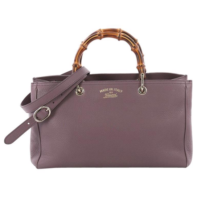 e9fe40aaf7db Gucci Bamboo Shopper Tote Leather Medium at 1stdibs