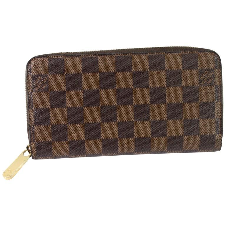 0acc67c3f122 Louis Vuitton Damier Ebene Zippy Wallet For Sale at 1stdibs