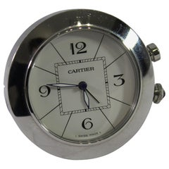 Cartier Pasha Stainless Steel  Travel Clock