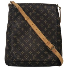 Louis Vuitton Monogram Musette Salsa GM Crossbody Shoulder Handbag