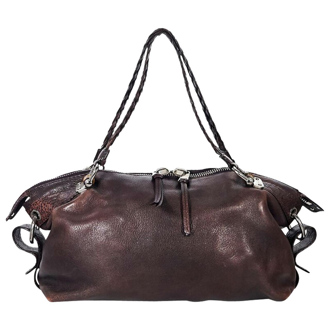 ed90573c0bb93 Burgundy gucci burnished leather shoulder bag for sale at stdibs jpg  1500x1500 Burgundy gucci handbag