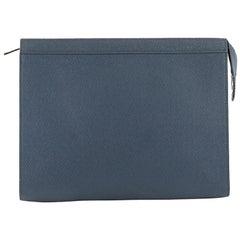 Louis Vuitton Pochette Voyage Taiga Leather MM