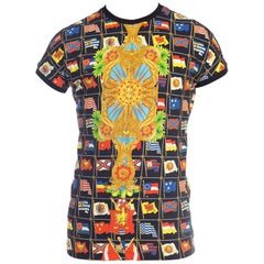 1990s Gianni Versace Miami Collection 1990 T-Shirt