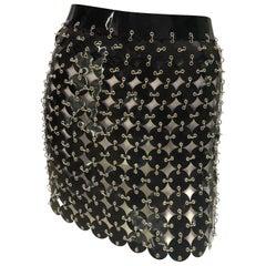 Paco Rabanne chainmail skirt