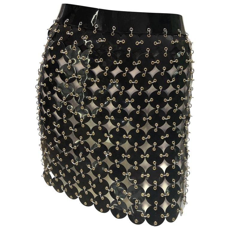 Paco Rabanne chainmail skirt  For Sale