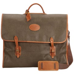 Mulberry Brown Leather Garment Case
