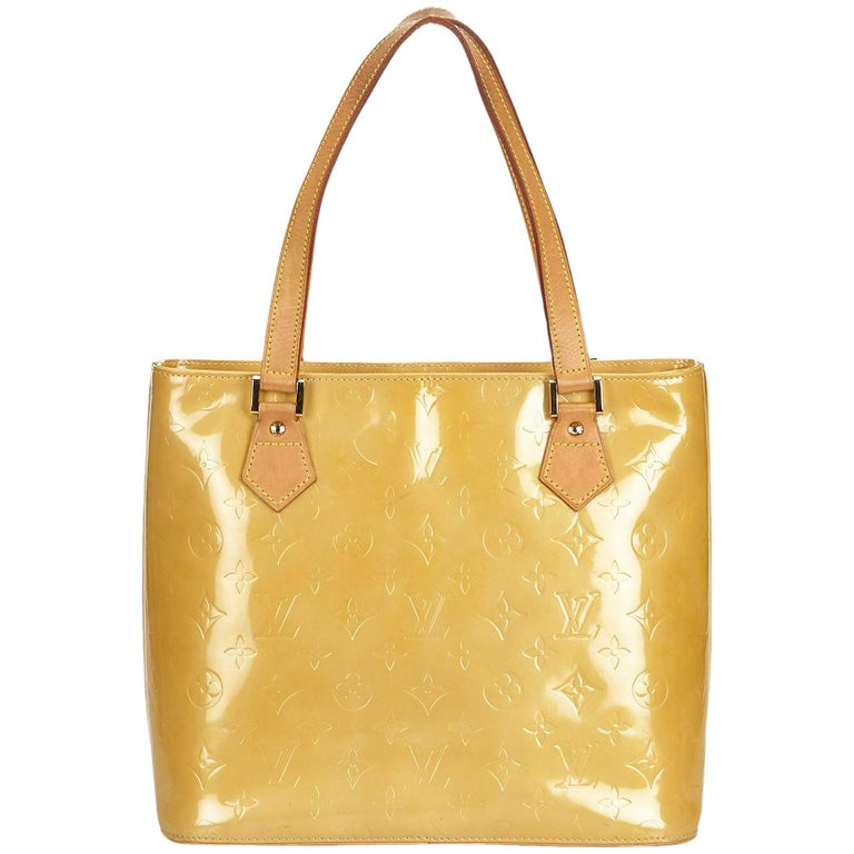 211667edf6de Louis Vuitton Yellow Vernis Houston at 1stdibs