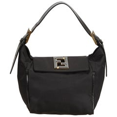 Fendi Black Nylon Handbag