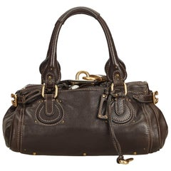 Chloe Brown Leather Paddington