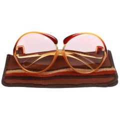 Vintage 1970s YSL Yves Saint Laurent Sunglasses