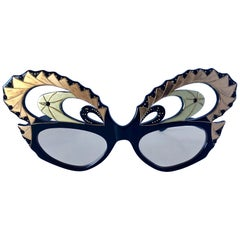 Vintage French Designer Deco Eyeglass Frames