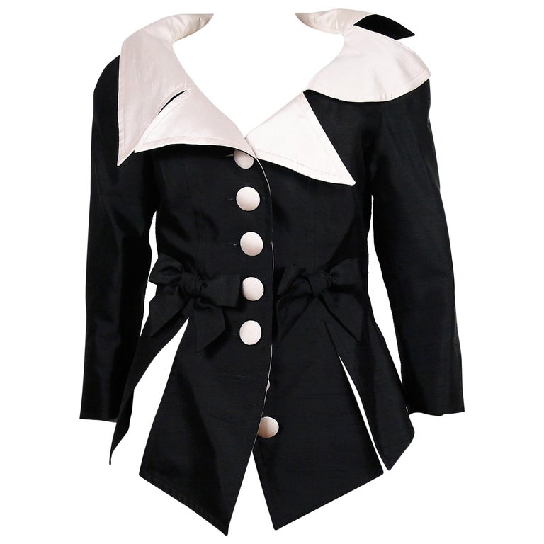 Christian Lacroix Vintage 18th Century Inspired Jacket For Sale