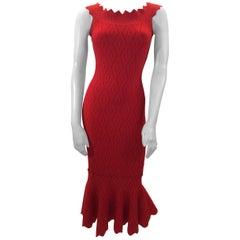 Jonathan Simkhai Red Knit Dress