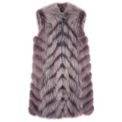 Hockley Thyra Raccoon and Beaver Fur Gilet