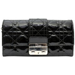 Dior Pochette/Wallet Black Vernis Leather
