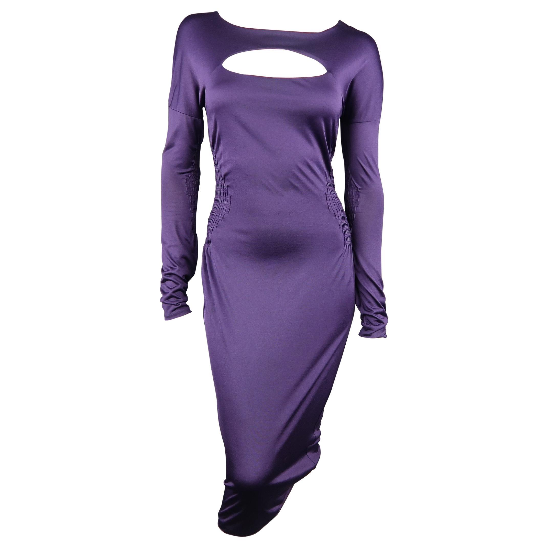 Gucci Purple Cocktail Dress