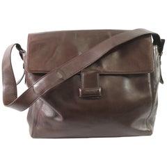 Chanel Brown Leather Everyday Shoulder Bag