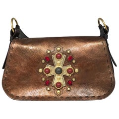 Yves Saint Laurent Byzance Embellished Shoulder Bag