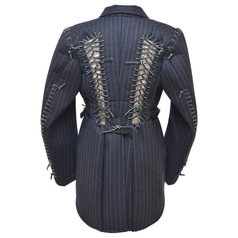 Rare COMME DES GARCONS Black Runway  Spring 2005  Jacket     M Size   For Sale