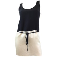 Chanel Silk Waist Tie Tank Top 2008 P