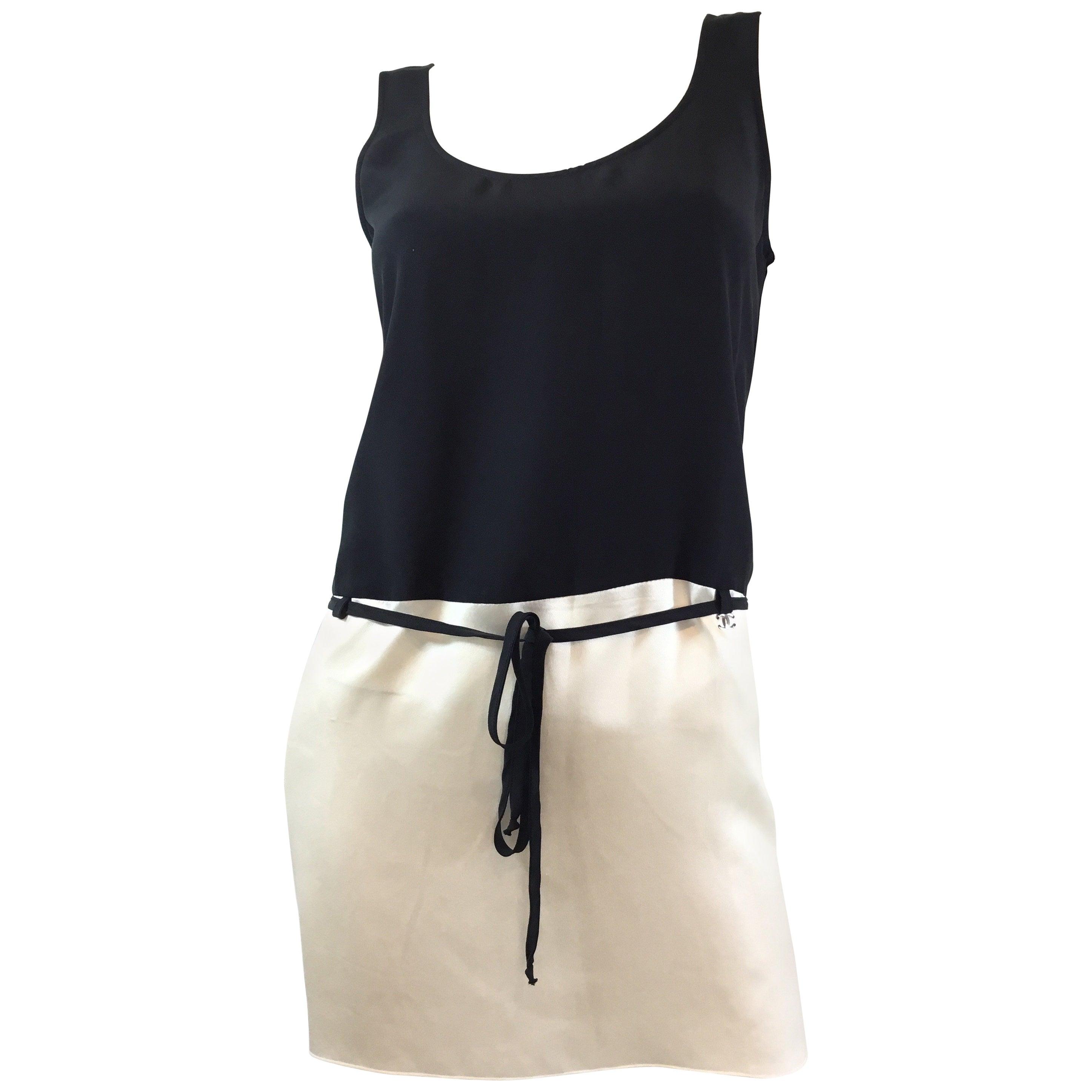 Chanel Silk Waist Tie Tank Top 2008 P