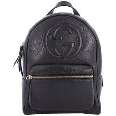 Gucci Soho Chain Backpack Leather,