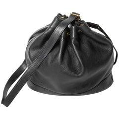 Hermes Market Bag in Black Leather