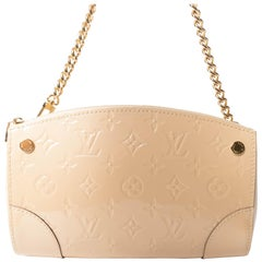 Louis Vuitton Vernis with Gold Chain and Detachable Shoulder Strap