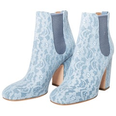 Laurence Dacade Lace Booties - Size 39 / 9