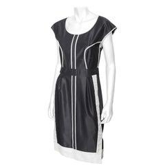 Fendi Cap Sleeve Dress - 42 / Medium
