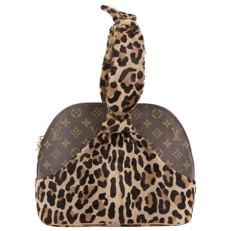 ad1110d29210 Louis Vuitton Limited Edition Alaia Centenaire Alma Bag Pony Hair and  Monogram C For Sale