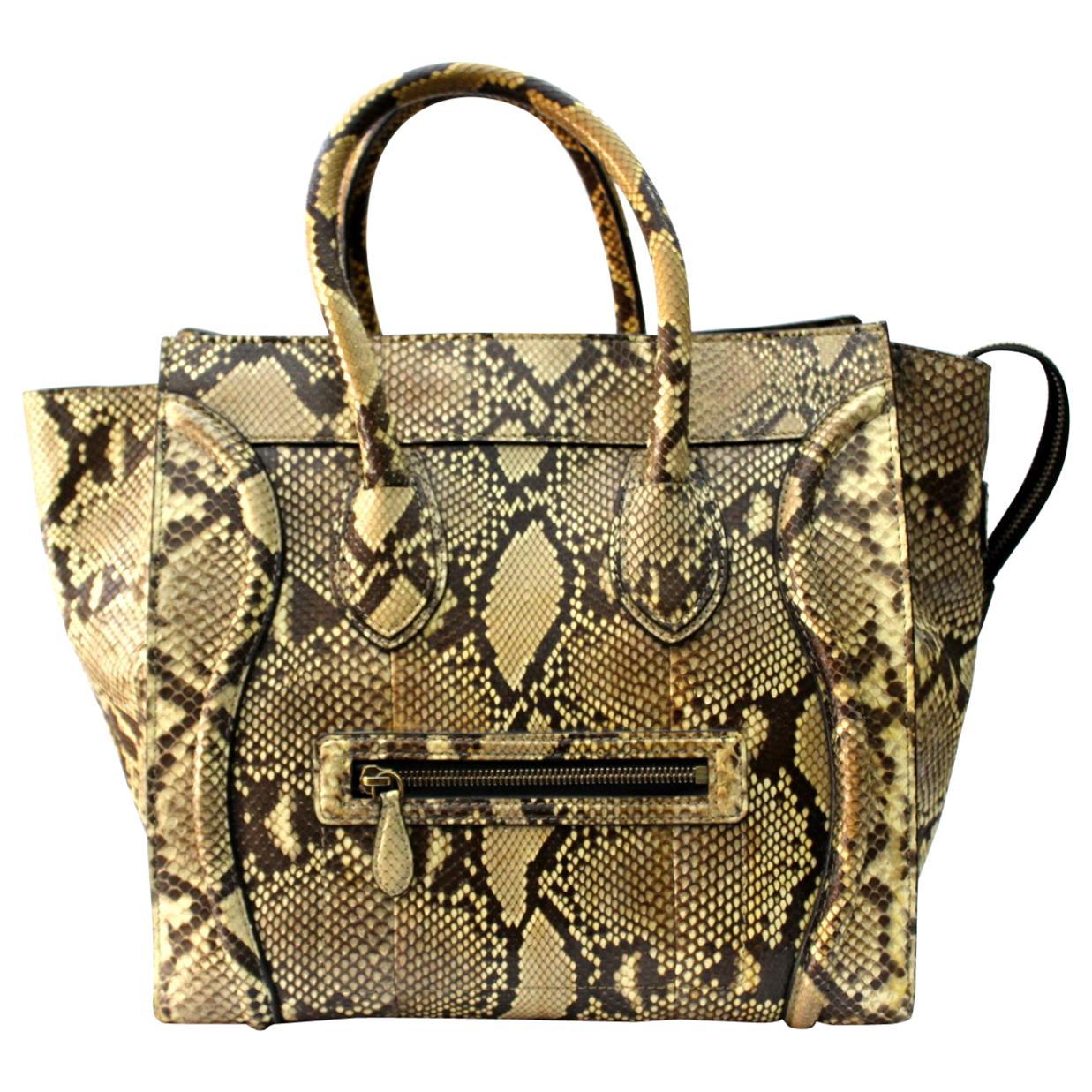 Cèline Luxury Luggage Bag