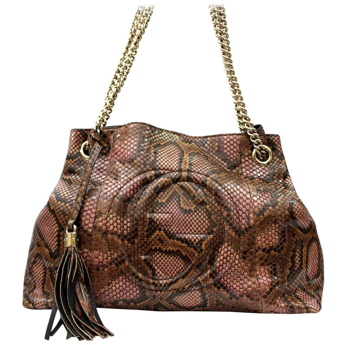 Gucci Leather Soho Bag