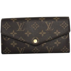 Louis Vuitton Monogram Sarah Wallet (New Model)
