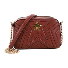 Stella McCartney Stella Star Crossbody Bag Quilted Faux Leather Small