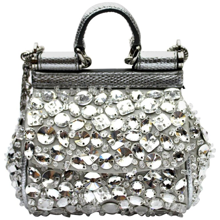 f5f665a201 2018 Dolce and Gabbana Sicily Micro Bag For Sale at 1stdibs