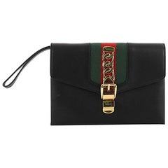 Gucci Sylvie Clutch Leather Small