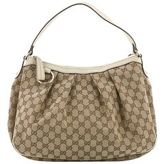 Gucci Sukey Hobo GG Canvas Medium