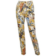 Moschino Vintage 90s Cave Paintings Trousers