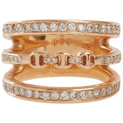 Hoorsenbuhs Diamond & Yellow Gold Asset Ring