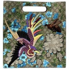 Gucci Linea C Blooms Print XL Tote