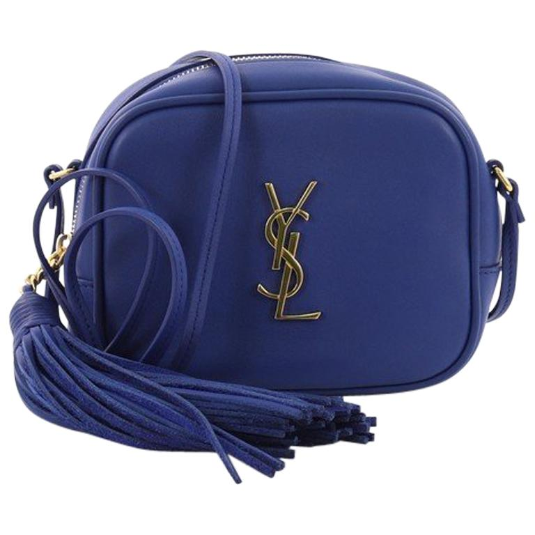 ef1f265e92b7 Saint Laurent Classic Monogram Blogger Crossbody Bag Leather Small For Sale