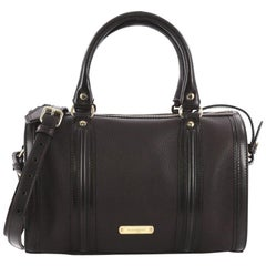 Burberry Alchester Convertible Satchel Leather Medium